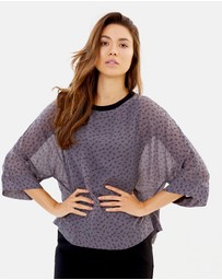 Privilege - Tulip Dance Layered Top