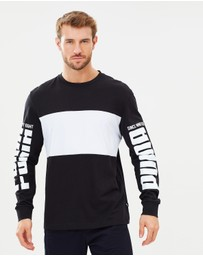 Puma - Rebel Up LS Tee