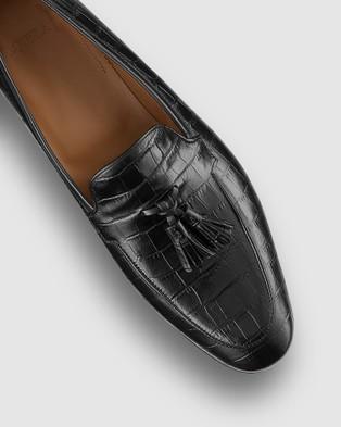 Aquila Blaylock Loafers - Dress Shoes (Black)