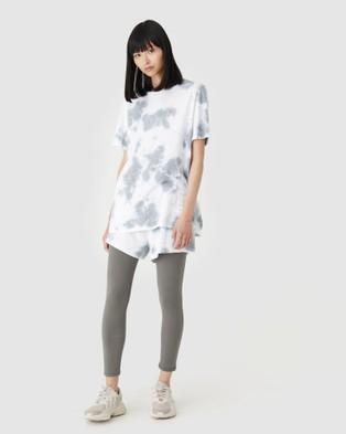 Jac & Mooki Frankie Tee - T-Shirts & Singlets (vintage sage tie dye)