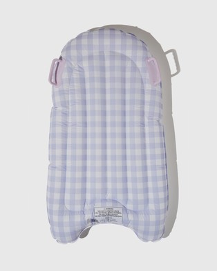 Cotton On Kids Inflatable Boogie Board   Kids - Swimming / Towels (Lilac Gingham)