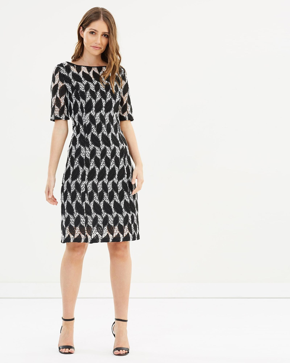 Faye Black Label Shapeshifter Shift Dress Dresses Black Shapeshifter Shift Dress