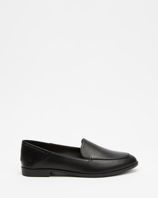 Billini Molly Loafers   ICONIC EXCLUSIVE - Flats (Black Pebble)