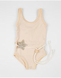 Fonda Leotard with Star Belt - Kids