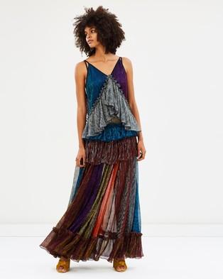 Romance Was Born – Disco Lust Gown Multi
