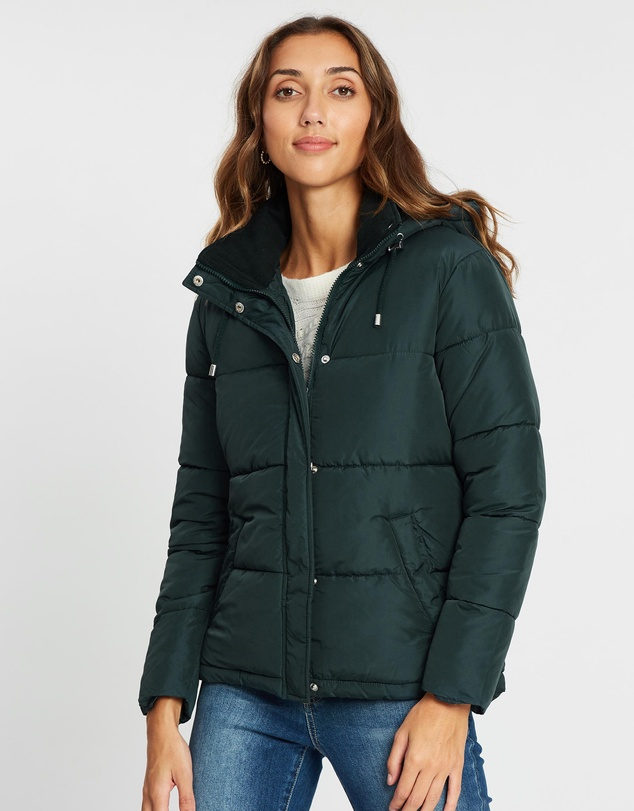 Dorothy Perkins - Short Hooded Padded Jacket