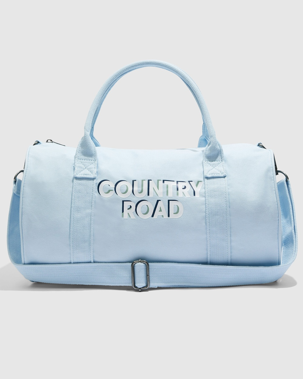 Country Road Logo Overnight Bag Bags blue