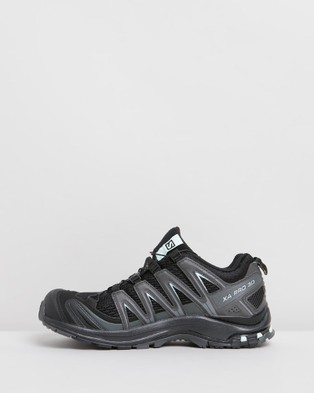 Salomon XA Pro 3D Shoes   Women's - Hiking & Trail (Black, Magnet & Fair Aqua)