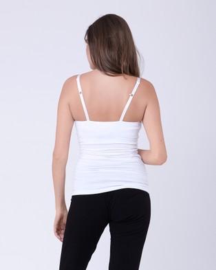 Ripe Maternity Ultimate Express Tank - T-Shirts & Singlets (White)