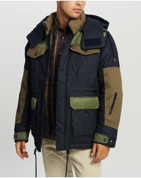 White Mountaineering - WM X LMC Padded Down Jacket