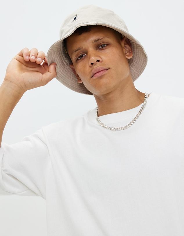 Women Kangol Washed Bucket Hat