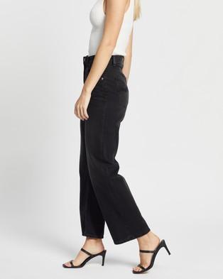 Nudie Jeans Clean Eileen - High-Waisted (Shimmering Black)