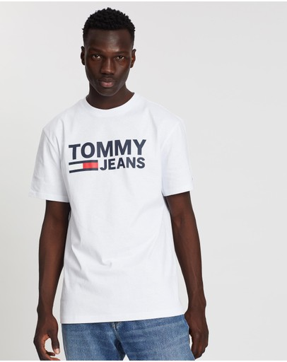 Tommy Jeans - Tommy Classics Logo Tee
