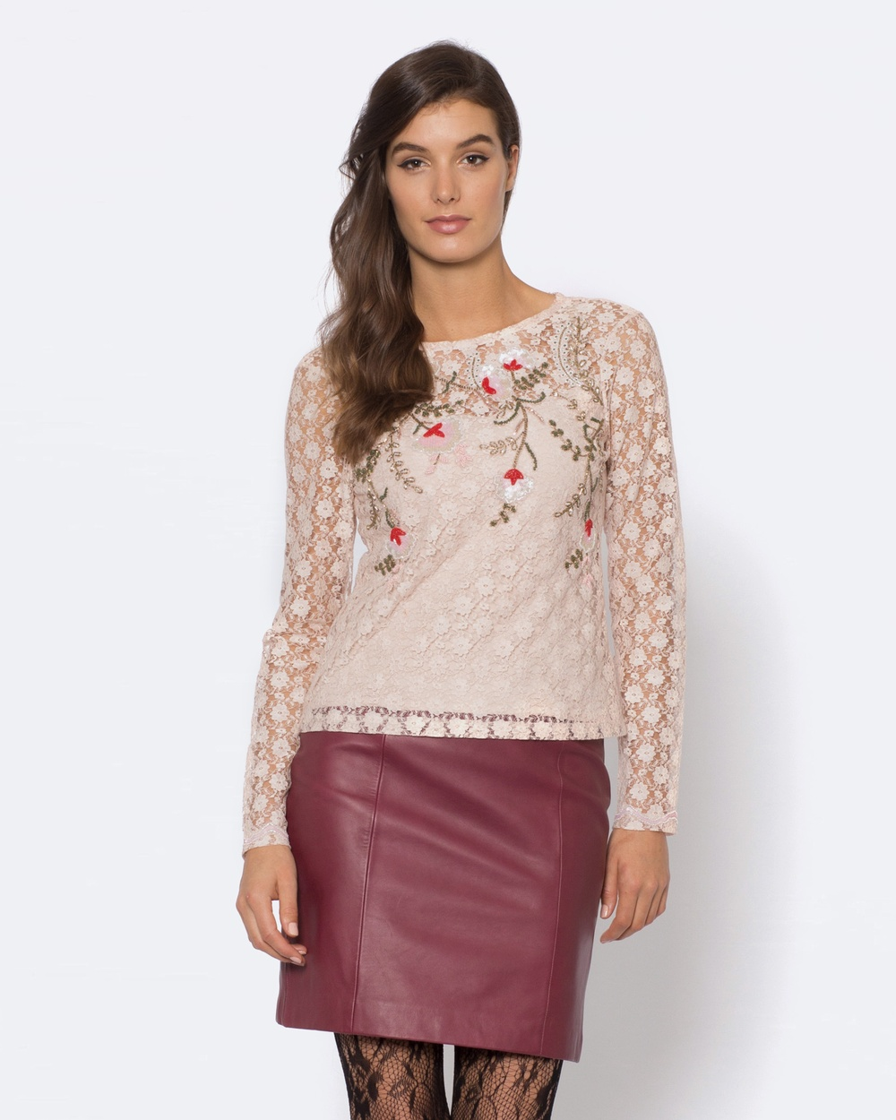 Alannah Hill Dance With The Flowers Top Tops Pink Dance With The Flowers Top