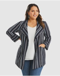 Estelle - Sky Stripe Jacket
