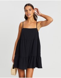 Dazie - Harmony Cotton Blend Swing Dress
