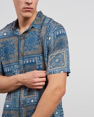 Kiss Chacey Sun Juan Relaxed Short Sleeve Shirt - Casual shirts (Multi Colour Print)