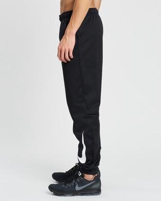 Nike Therma Tapered Training Pants - Track Pants (Black & White)