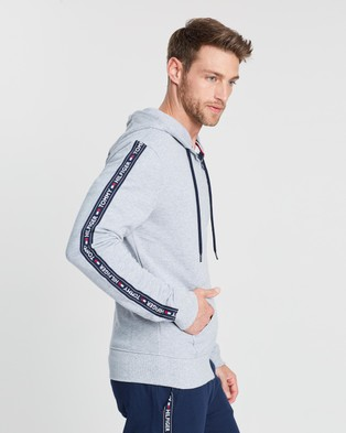 Tommy Hilfiger LS Hoodie - Accessories (Grey Heather)