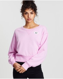 Abercrombie & Fitch - Shrunken Logo Crew Sweater