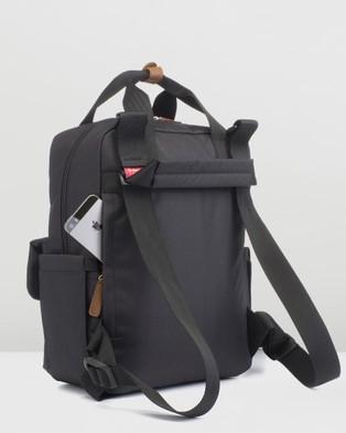 Babymel - Georgi Eco Convertible Backpack - Backpacks (Black) Georgi Eco Convertible Backpack