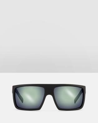 Otis Capitol REFLECT Polarised - Sunglasses (Matte Black Flash Mirror Grey Polarised)