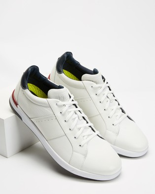 Florsheim Crossover Lace - Sneakers (White)