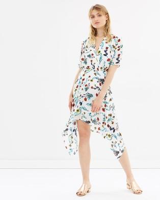 LIFEwithBIRD – Flemington Dress Multi colour