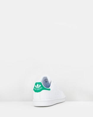 adidas Originals - Stan Smith Pre School Lifestyle Shoes (White/Green)