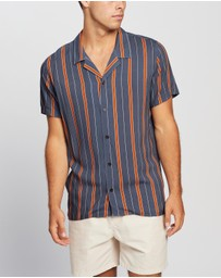 Staple Superior - Banks Retro Stripe SS Shirt