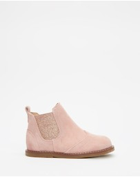 Walnut Melbourne - Burrow Suede Boots - Kids