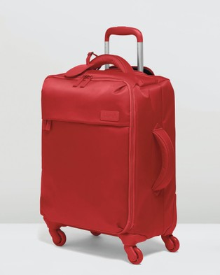 Lipault Paris Originale Plume Spinner 55cm Expandable Suitcase - Travel and Luggage (Red)