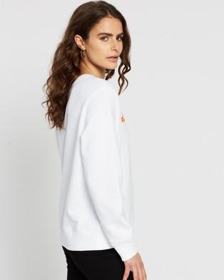 Tommy Hilfiger Annie Relaxed Crew LS Sweatshirt - Sweats (White)