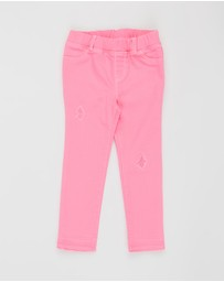 babyGap - Pull-On Destructed Jeggings - Babies-Kids