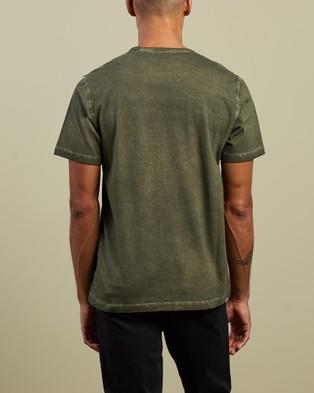 Theory - Precise Tee - T-Shirts & Singlets (Khaki) Precise Tee