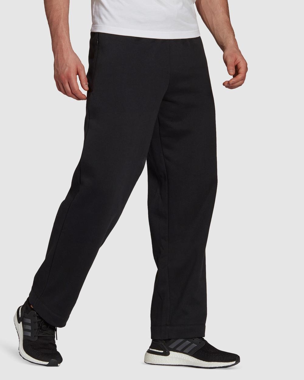 adidas Performance Sportswear Comfy and Chill Fleece Pants Black