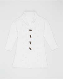 Purebaby - Long Cable Cardigan - Kids
