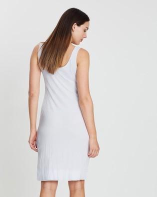 Faye Black Label The Essential Slip Dress - Dresses (White)