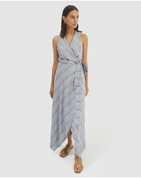 SABA - Dani Check Midi Dress