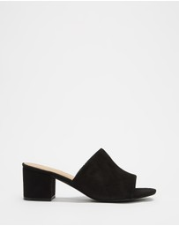 SPURR - Lila Mules (Wide Fit)