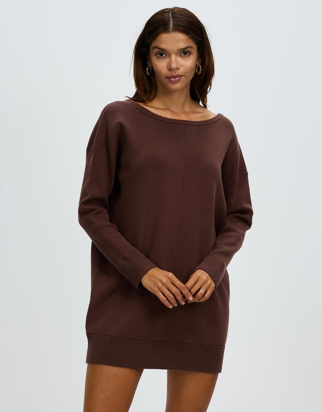 Women Oversized Organic Knit Jumper
