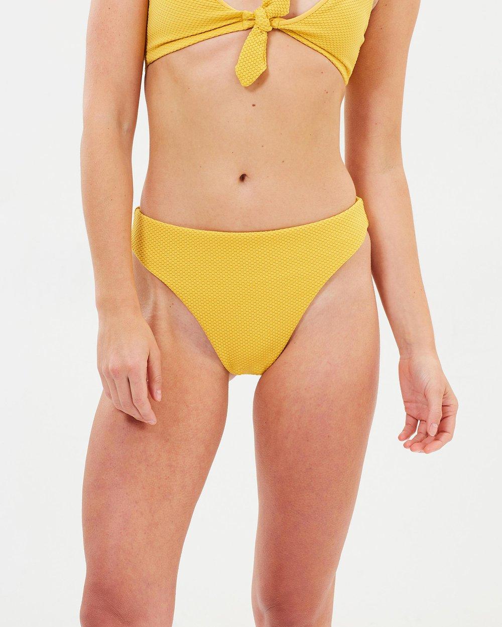 47a6eed374 Alexa Mid Rise Bikini Bottoms by MINKPINK Online