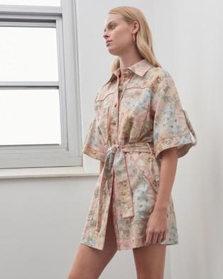 Alemais - Patricia Shirt Dress - Dresses (Floral) Patricia Shirt Dress