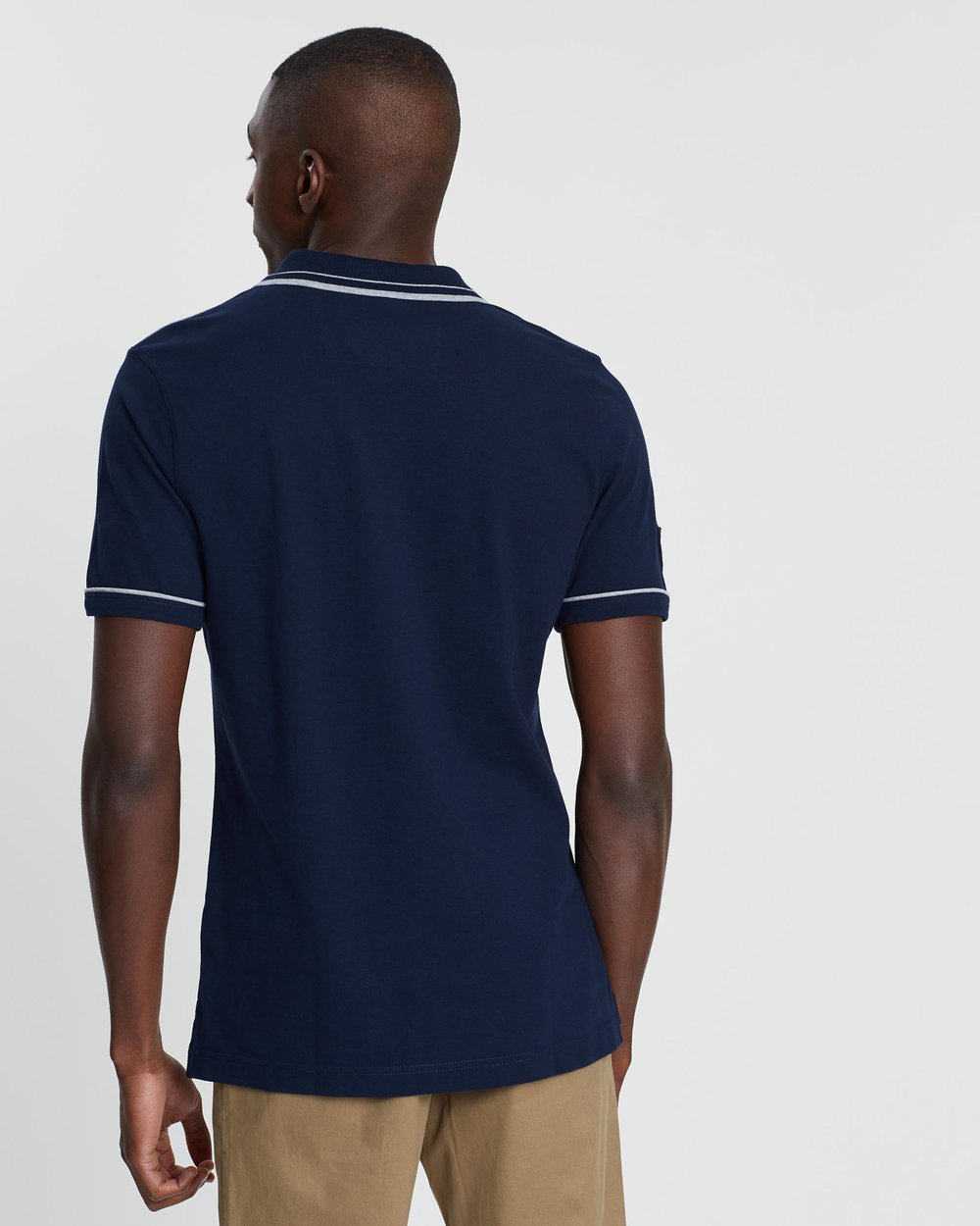284c452d1cde Tipped Pique Polo by Banana Republic Online
