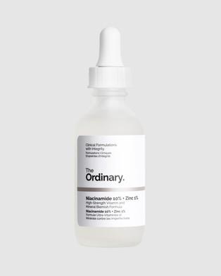 The Ordinary Niacinamide 10% + Zinc 1% 60ml - Beauty (N/A)