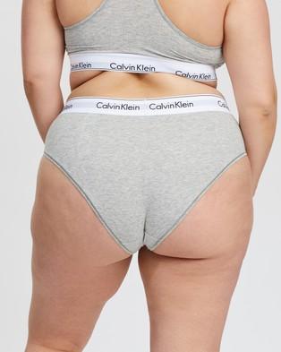 Calvin Klein Modern Cotton Plus Hipster Briefs - Hipster Briefs (Grey Heather)