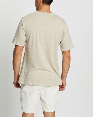 Merlino Street Hemp Tee - T-Shirts & Singlets (Natural)