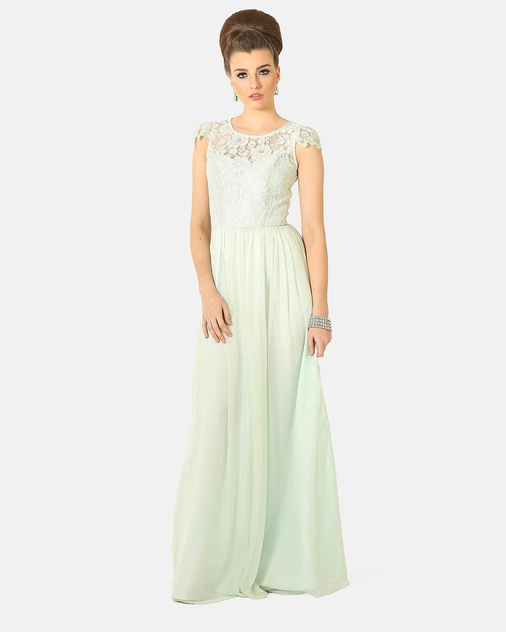 Tania Olsen Designs Latitia Dress Bridesmaid Dresses Mint Latitia Dress