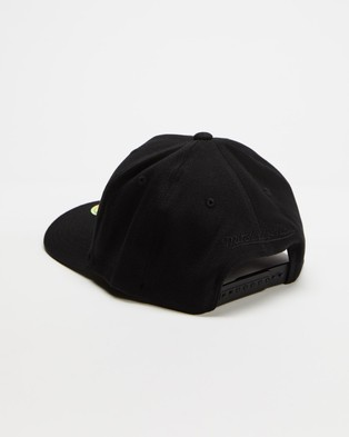 Mitchell & Ness Los Angeles Clippers Snapback - Headwear (All Black)