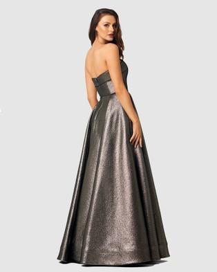Tania Olsen Designs - Xena Formal Dress - Bridesmaid Dresses (Gunmetal) Xena Formal Dress